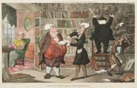Rowlandson Doctor Syntax and Bookseller