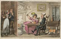 Rowlandson Doctor Syntax Returned from his Tour
